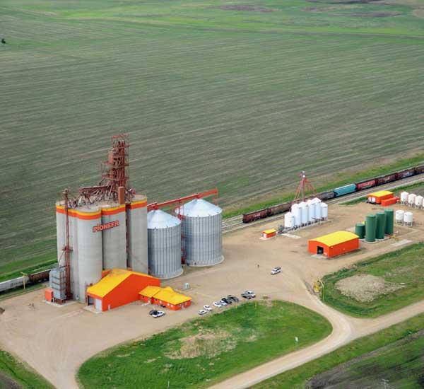 melfort aerial view